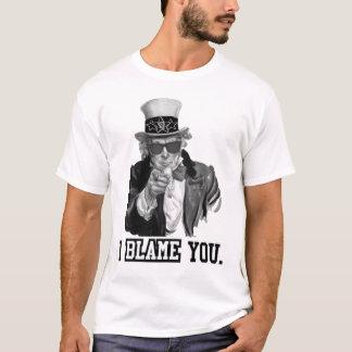T-shirt Je vous blâme