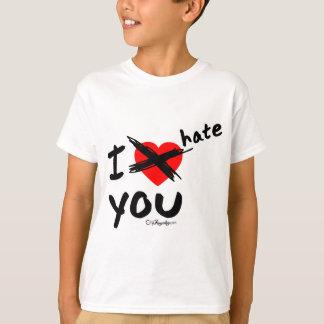 T-shirt Je vous déteste