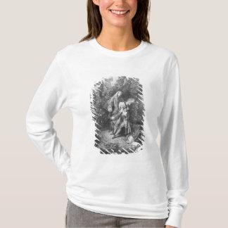 T-shirt Jean Antoine Watteau et Monsieur d'ami