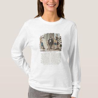 T-shirt Jean Baptiste Colbert (1619-83) présente la carte