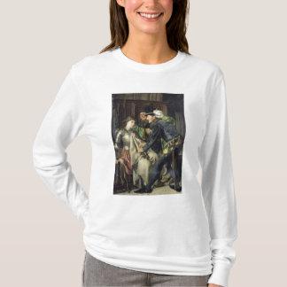 T-shirt Jeanne d'Arc a insulté en prison, 1866