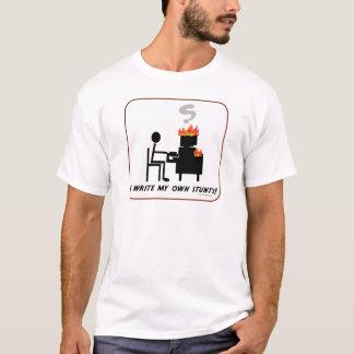 T-shirt J'écris mes cascades