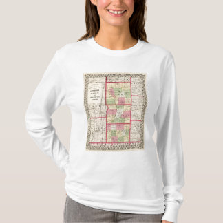 T-shirt Jefferson, Franklin, comtés de Williamson