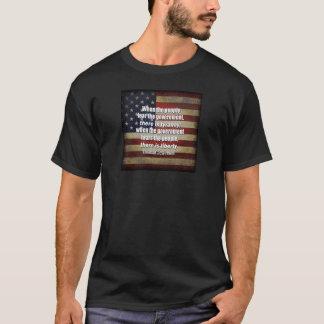 T-shirt Jefferson : Liberté contre la tyrannie