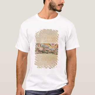 """T-shirt """"Jéhovah s'est tenu parmi les druides…"""", plaquent"""