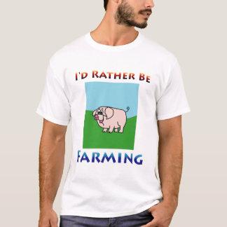 T-shirt j'élèverais plutôt des hommes