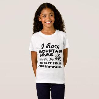 T-Shirt J'emballe des vélos de montagne, ce qui est la