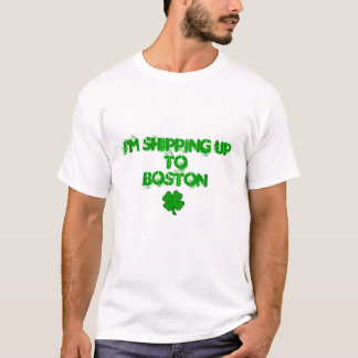 T-shirt J'embarque jusqu'à Boston