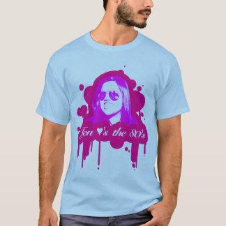 T-shirt jen les coeurs les années 80