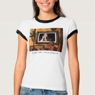 T-shirt Jennifer Mello - bruits de pièce en t de légendes