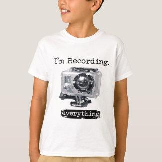 T-shirt J'enregistre tout