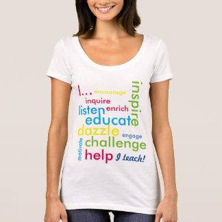 T-shirt J'enseigne !