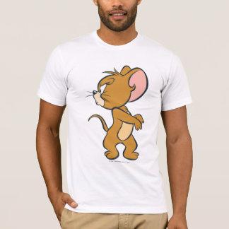 T-shirt Jerry regardant de retour contrarié
