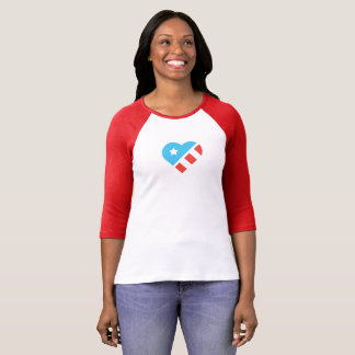 T-shirt Jersey de base-ball patriotique pour ATMA