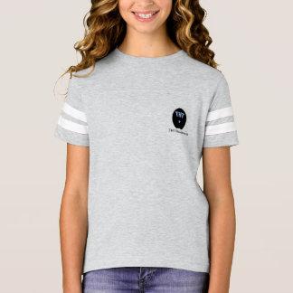 T-shirt Jersey de série de sabot de filles avec le dos de