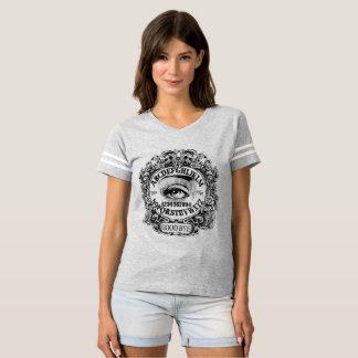 T-shirt jersey du football de conseil de sorcière