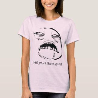 T-shirt Jésus doux qui est bon (le texte)