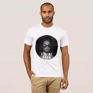 T-shirt Jésus I sera de retour pièce en t chrétienne