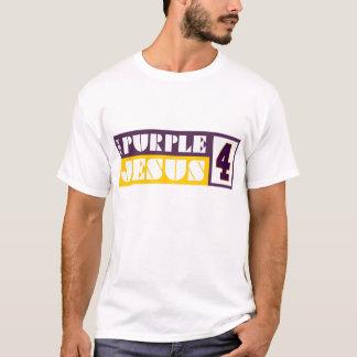 T-shirt Jésus pourpre