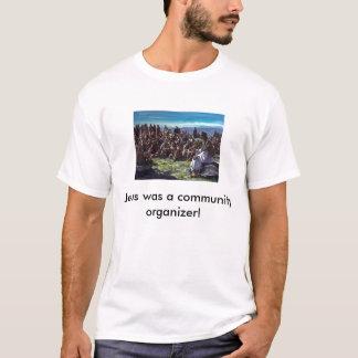 T-shirt JesusPreachingMultitudes, wa de Jésus… - Customisé