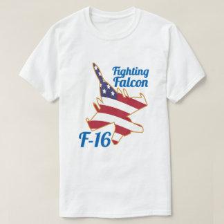 T-shirt Jet électrique de combat de drapeau des USA du