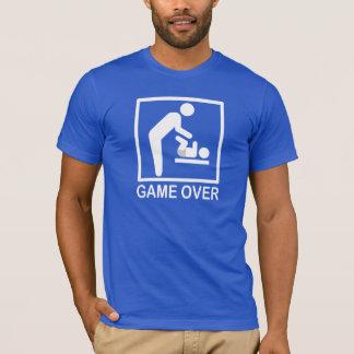 T-shirt Jeu au-dessus de pictogramme drôle de papa