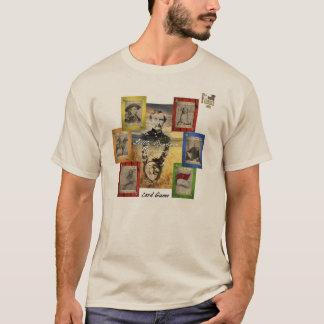 T-shirt Jeu de carte de rami de Little Bighorn