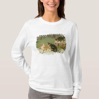 T-shirt Jeu de chatons