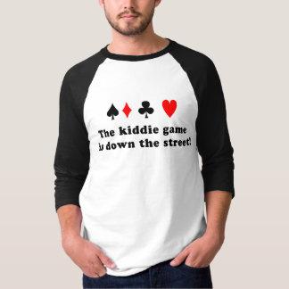 T-shirt jeu de kiddie !