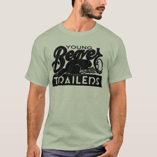 T-shirt Jeune chemise de remorque de castor