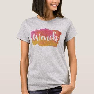 T-shirt Jeune fille, pièce en t d'argot de Birmingham, le