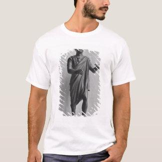 T-shirt Jeune garçon avec un oiseau, tard républicain