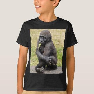 T-shirt Jeune gorille