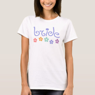 T-shirt Jeune mariée de Girly-Réplique