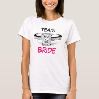 T-shirt Jeune mariée d'équipe