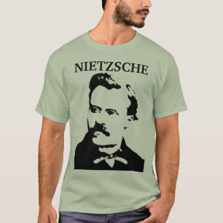 T-shirt Jeune monochrome de Nietzsche