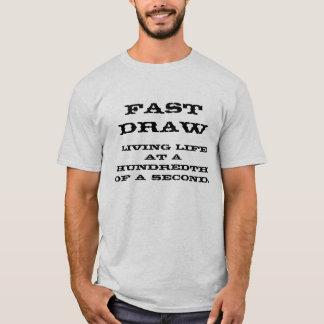 T-shirt Jeûnent l'aspiration, la vie vivante à une