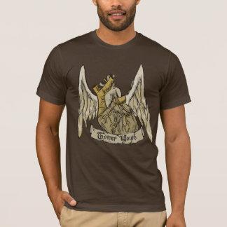T-shirt Jeunesse de tour : Coeur indépendant