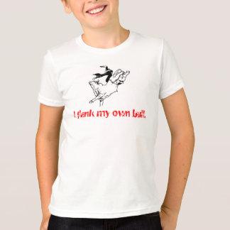 T-shirt JEUNESSE - flanc d'I mon propre bull.