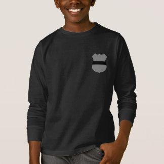 T-shirt Jeunesse personnalisable Longsleeve d'insigne