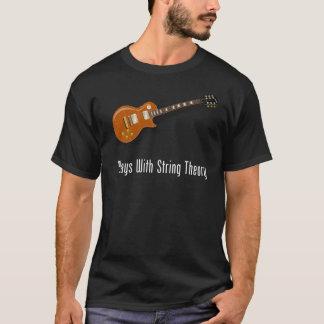 T-shirt Jeux avec la théorie de ficelle - guitare