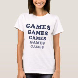 T-shirt Jeux de jeux de jeux de jeux de jeux