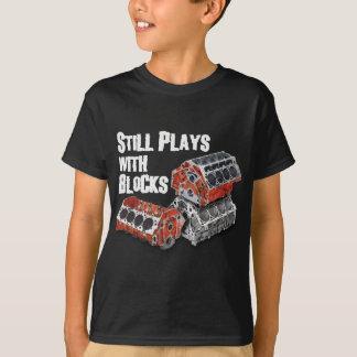 T-shirt Jeux toujours avec des blocs