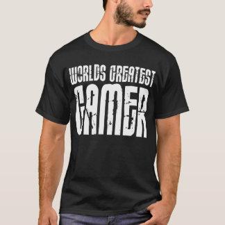 T-shirt Jeux vidéo jeu et Gamer des mondes de Gamers plus