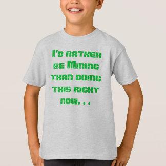 T-shirt J'extrairais plutôt