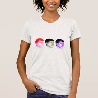 T-shirt JFK tryptique