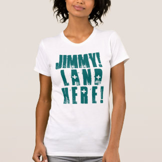 T-SHIRT JIMMY ! TERRE ICI !