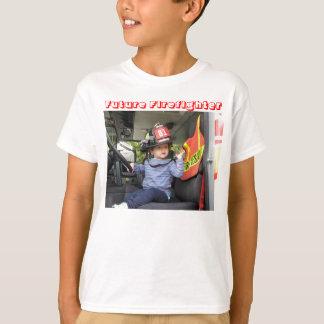 T-shirt Joaquin, futur sapeur-pompier