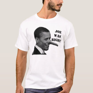 T-shirt Joe Wilson avait raison