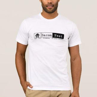 T-shirt Joey - le feu court L blanc de douille